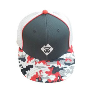 Fitted Hang5Gear Grey White Cap