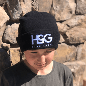hang5gear black white beenie