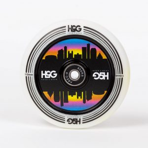 H5G Sunset Wheels 110MM Hollow Core White